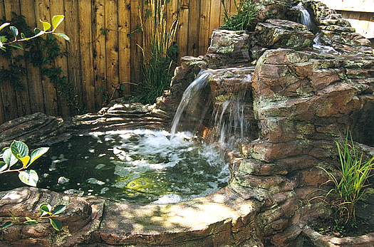 Make sure you avoid these mistakes when building a rock for Build a waterfall in your backyard